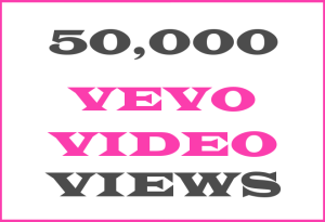 50K Vevo + YT Video Views – INFO HERE