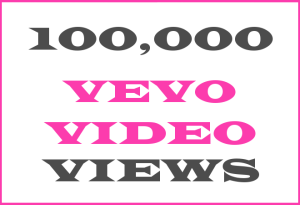 100K Vevo + YT Views – INFO HERE